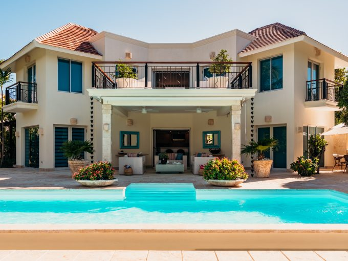 Villa Tortuga C-2 at Punta Cana Resort & Club Beach For sale golf luxury beach front