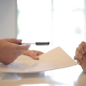 The contract of sale in real estate